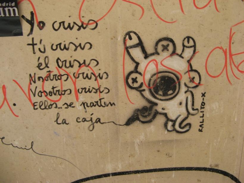 """""""Declinemos crisis"""" Fotografía de Tnarik Innael con licencia CC BY-SA 2.0"""